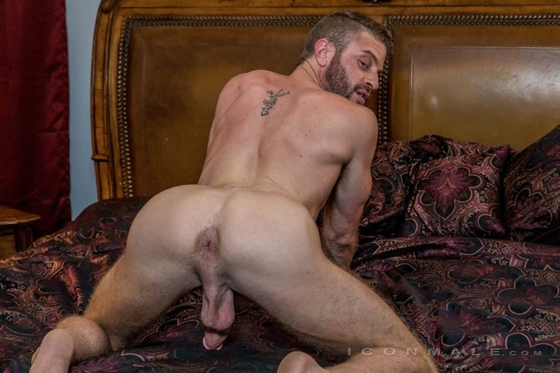 Hung hairy muscle stud Link Parker aka Sean Cody Tobey naked gay porn star 022 gay porn pics - Hung hairy muscle stud Link Parker (aka Sean Cody Tobey) exposes his sexy body and huge cock