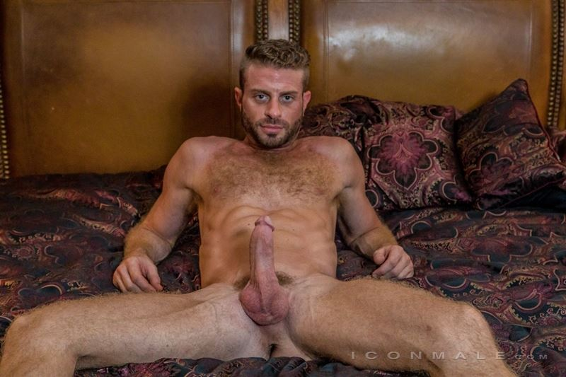 Hung hairy muscle stud Link Parker aka Sean Cody Tobey naked gay porn star 024 gay porn pics - Hung hairy muscle stud Link Parker (aka Sean Cody Tobey) exposes his sexy body and huge cock