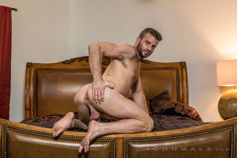 Hung hairy muscle stud Link Parker aka Sean Cody Tobey naked gay porn star 025 gay porn pics - Hung hairy muscle stud Link Parker (aka Sean Cody Tobey) exposes his sexy body and huge cock