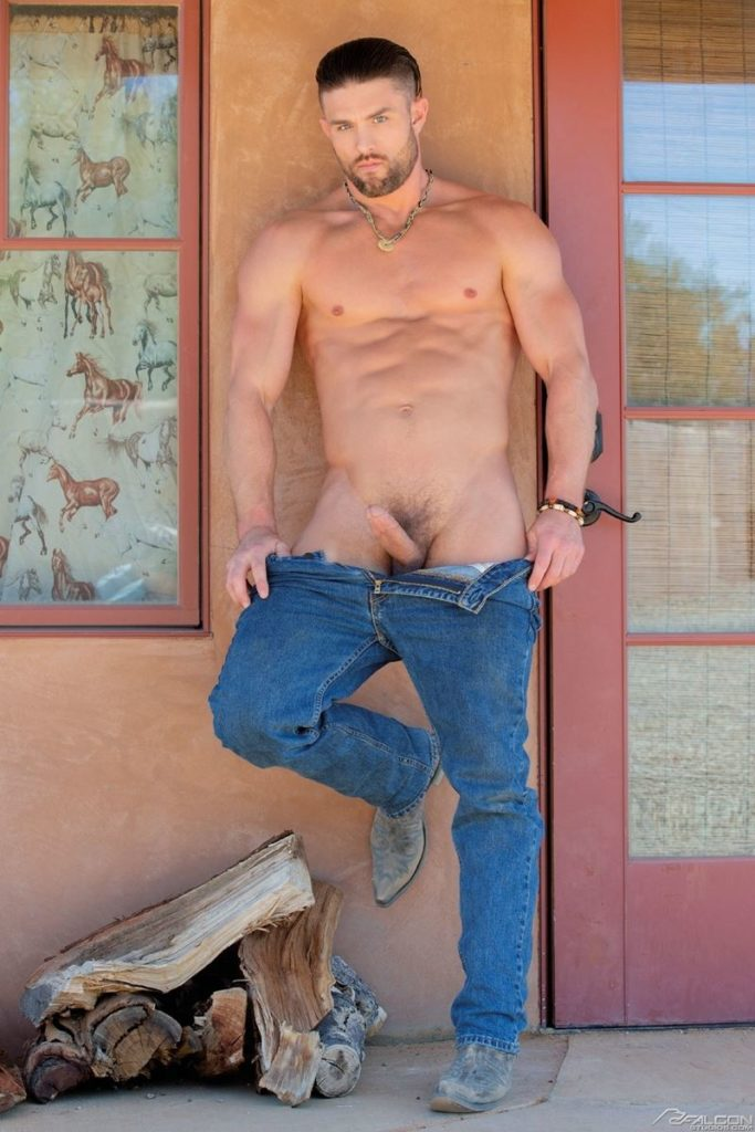 Ryan Rose six pack abs ripped muscular grown beard facial hair big thick dick Youlovenudedudes 028 gay porn pics 683x1024 - Ryan Rose has got more ripped and muscular grown a beard and increased in hotness
