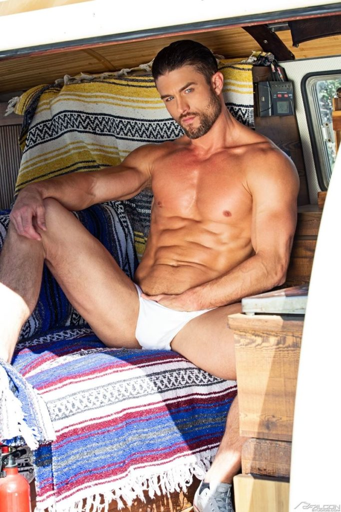Ryan Rose six pack abs ripped muscular grown beard facial hair big thick dick Youlovenudedudes 034 gay porn pics 683x1024 - Ryan Rose has got more ripped and muscular grown a beard and increased in hotness