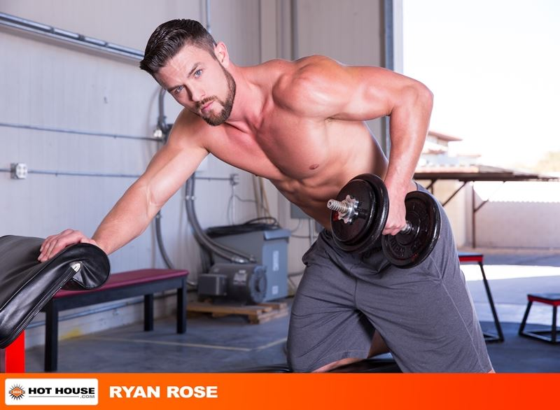 Ryan Rose six pack abs ripped muscular grown beard facial hair big thick dick Youlovenudedudes 041 gay porn pics - Ryan Rose has got more ripped and muscular grown a beard and increased in hotness