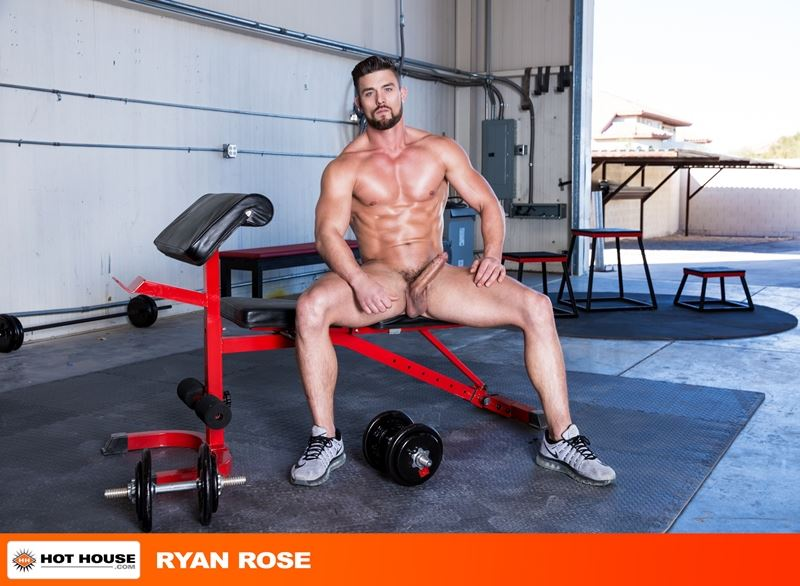 Ryan Rose six pack abs ripped muscular grown beard facial hair big thick dick Youlovenudedudes 042 gay porn pics - Ryan Rose has got more ripped and muscular grown a beard and increased in hotness