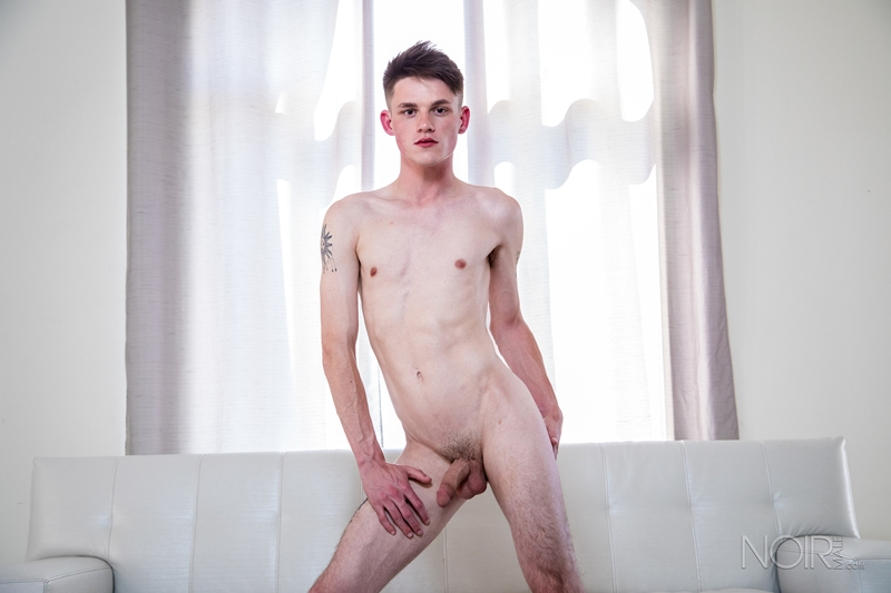 Young stud Avery Jones stripped naked slim body erect cock 019 gay porn pics - Young stud Avery Jones stripped naked showing off his slim body and erect cock