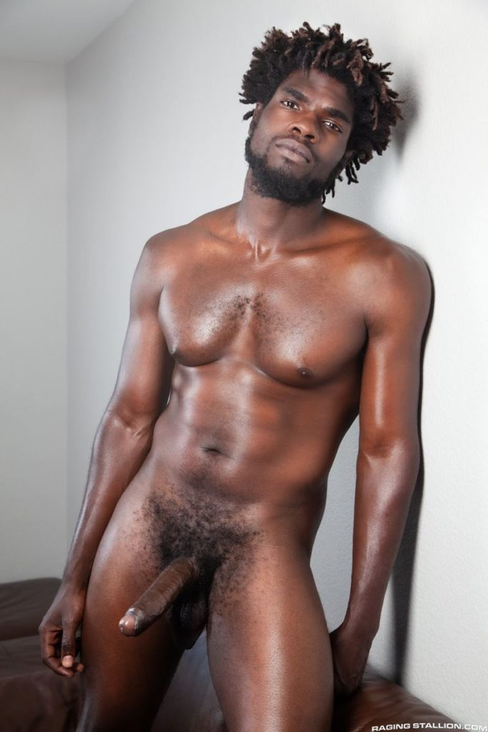 Sexy ebony muscle stud Devin Trez stripped naked stroking huge 10 inch black dick 014 gay porn pics 683x1024 - Sexy ebony muscle stud Devin Trez stripped stroking his huge 10-inch uncut black dick