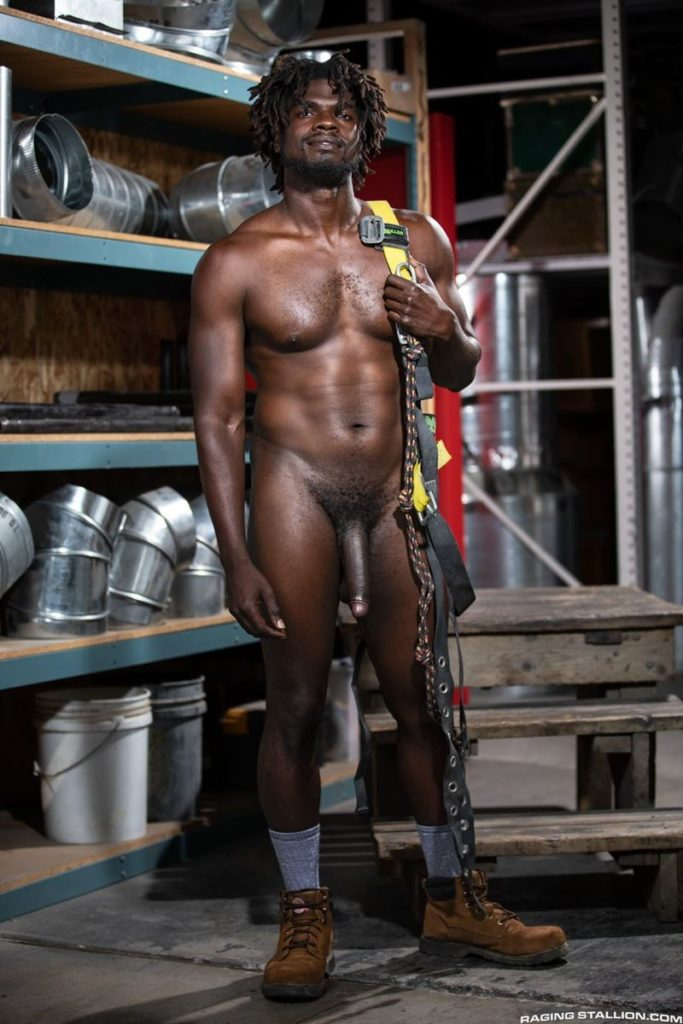 Sexy ebony muscle stud Devin Trez stripped naked stroking huge 10 inch black dick 020 gay porn pics 683x1024 - Sexy ebony muscle stud Devin Trez stripped stroking his huge 10-inch uncut black dick