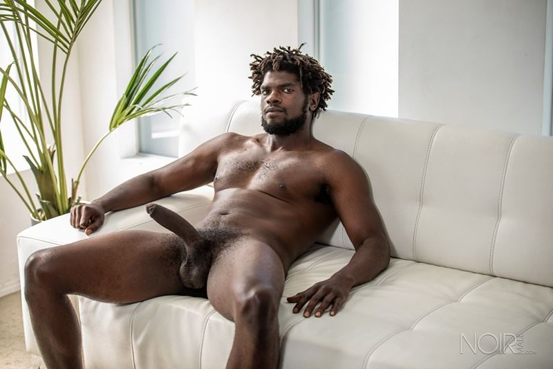Sexy ebony muscle stud Devin Trez stripped naked stroking huge 10 inch black dick 022 gay porn pics - Sexy ebony muscle stud Devin Trez stripped stroking his huge 10-inch uncut black dick