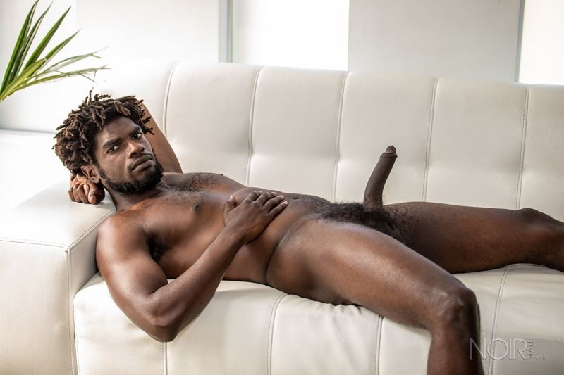 Sexy ebony muscle stud Devin Trez stripped naked stroking huge 10 inch black dick 024 gay porn pics - Sexy ebony muscle stud Devin Trez stripped stroking his huge 10-inch uncut black dick