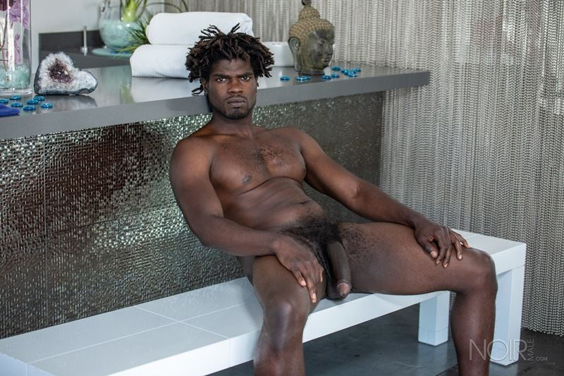 Sexy ebony muscle stud Devin Trez stripped naked stroking huge 10 inch black dick 027 gay porn pics - Sexy ebony muscle stud Devin Trez stripped stroking his huge 10-inch uncut black dick