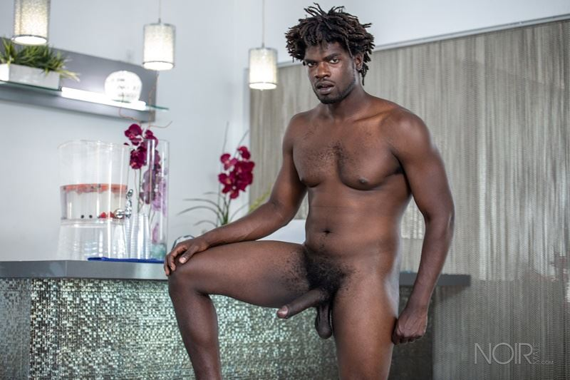 Sexy ebony muscle stud Devin Trez stripped naked stroking huge 10 inch black dick 032 gay porn pics - Sexy ebony muscle stud Devin Trez stripped stroking his huge 10-inch uncut black dick