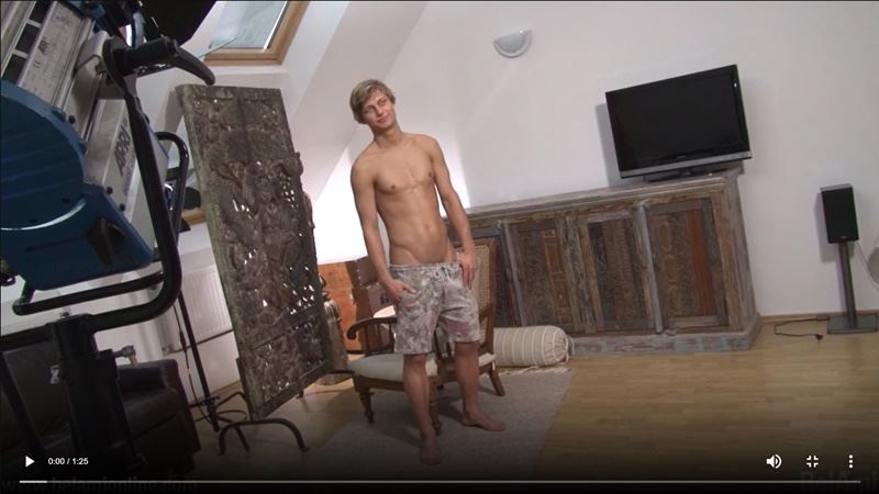 Belami boy Romain Martins stroking big thick uncut cock spraying cum six pack abs 001 gay porn pics - Belami boy Romain Martins stroking his big thick uncut cock spraying cum all over his six-pack abs