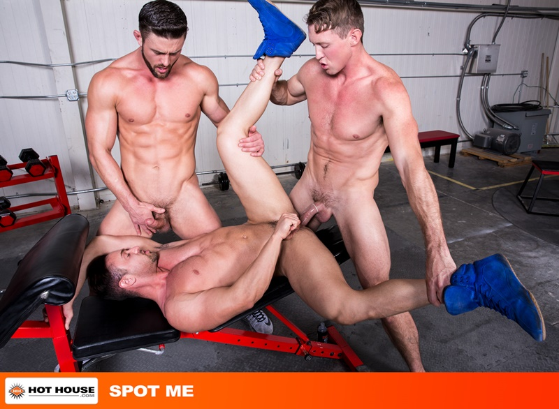 Hot House Josh Conners hot hole fucked Pierce Paris Ryan Rose huge dicks 001 gay porn pics - Hot House Josh Conners's hot hole fucked by Pierce Paris and Ryan Roses's huge dicks
