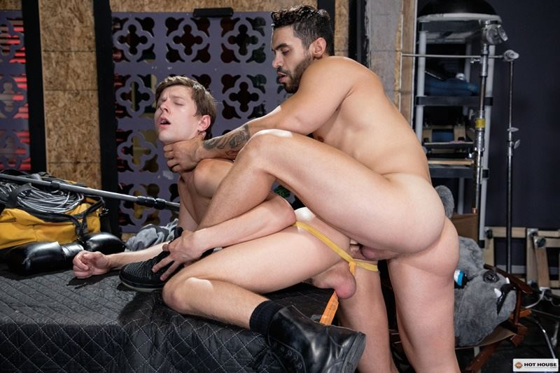 Hot House sexy dark stud Arad Winwin huge raw dick bareback fucking Austin Avery tight bubble butt 001 gay porn pics - Hot House sexy dark stud Arad Winwin's huge raw dick bareback fucking Austin Avery's tight bubble butt