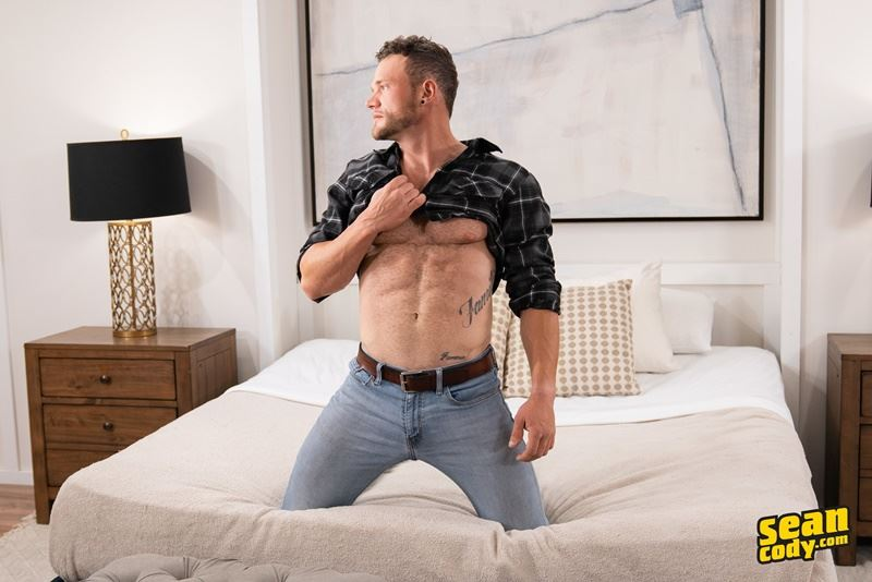 Sean Cody hotties Sean huge raw dick bareback fucking Nikolai tight ass hole 007 gay porn pics - Sean Cody hotties Sean's huge raw dick bareback fucking Nikolai's tight ass hole