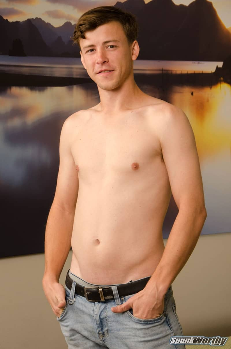 Spunkworthy gay porn all american naked dude big thick dick sex pics Nolan solo jerk off 003 gallery video photo - All American young dude Nolan gets a happy ending big cock massage