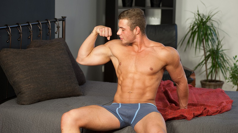 WilliamHiggins hot naked young czech dude twink Zdenek Tuma aged 21 years old virgin casting thick 7 inch dick Boxing champ 003 gay porn sex gallery pics video photo - New boy casting Zdenek Tuma is aged 21 years old and lives in Prague