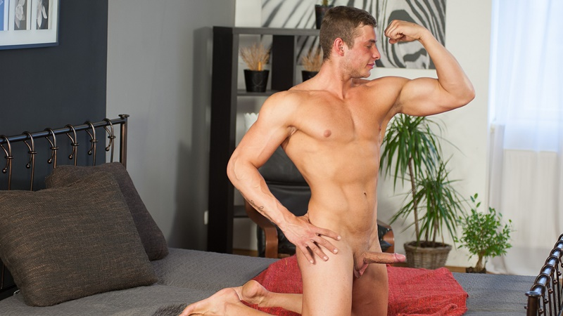 WilliamHiggins hot naked young czech dude twink Zdenek Tuma aged 21 years old virgin casting thick 7 inch dick Boxing champ 012 gay porn sex gallery pics video photo - New boy casting Zdenek Tuma is aged 21 years old and lives in Prague