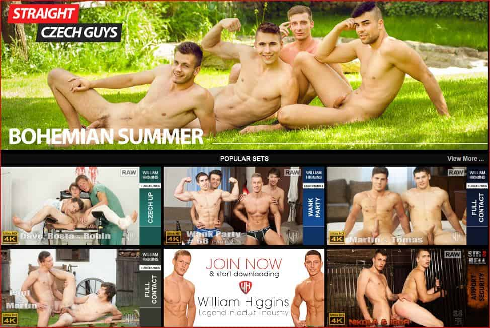 WilliamHigginsGayPornReview - Gay porn site William Higgins wins 5 star review