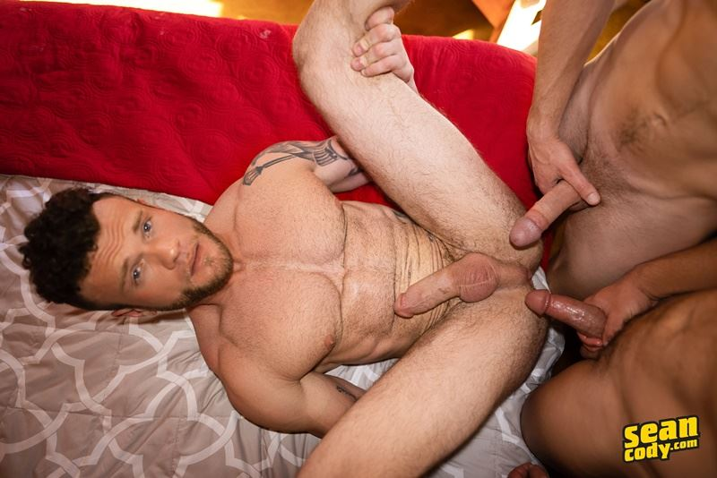 Sean Cody sexy trio Justin Sean Josh hardcore huge raw dick bareback ass fuck 001 gay porn pics - Sean Cody sexy trio Justin, Sean and Josh hardcore huge raw dick bareback ass fuck