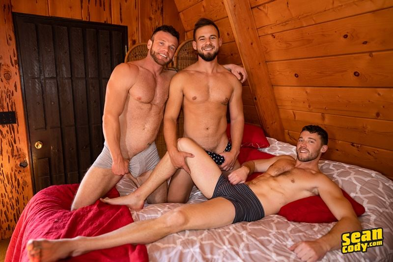 Sean Cody sexy trio Justin Sean Josh hardcore huge raw dick bareback ass fuck 016 gay porn pics - Sean Cody sexy trio Justin, Sean and Josh hardcore huge raw dick bareback ass fuck