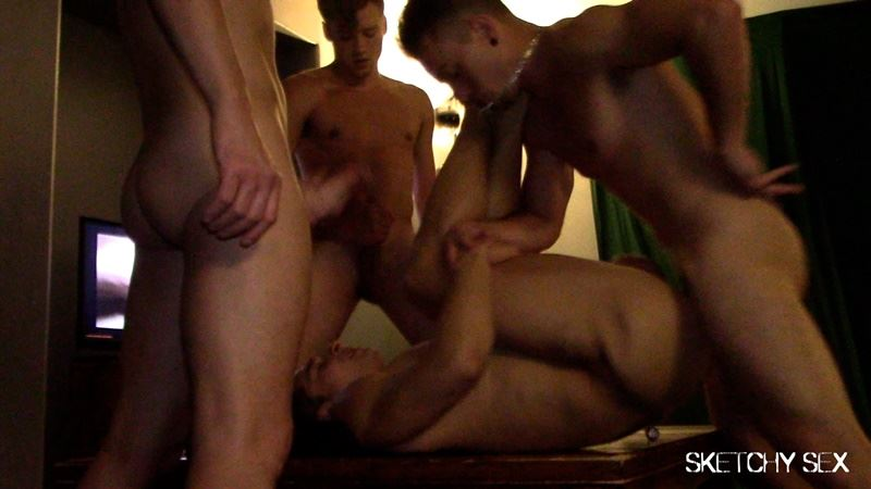 Welcome our new cumdump at Sketchy Sex 001 gay porn pics - Welcome our new cumdump at Sketchy Sex