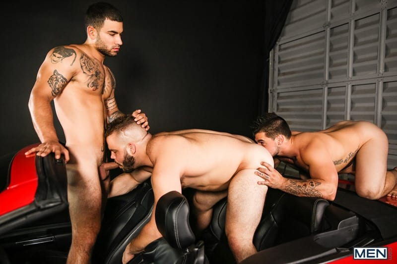 Bubble butt gay male big dick threesome Hot Gay Threesome Daxx Carter Vadim Black And Aspen Hardcore Anal Fucking Youlovenudedudes Com